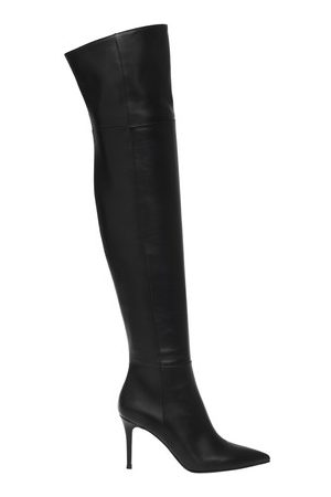Gianvito Rossi Women Ankle Boots - Bea 85 thigh high boots
