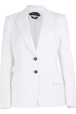 Tom Ford Women Denim Jackets - White denim jacket