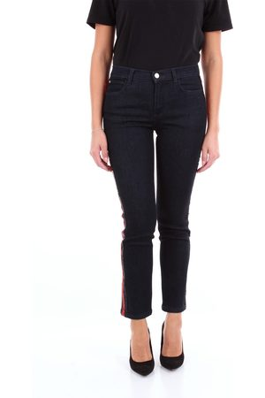 BLUE LES COPAINS Women Slim - Slim Women Dark jeans cotton and other fibers