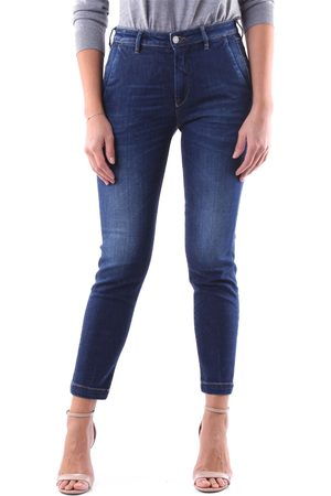 BARBA Women Slim - Slim Women Dark jeans
