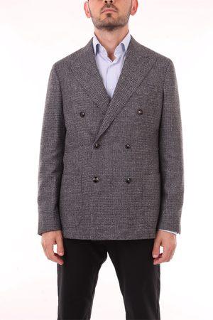 BARBA Men Blazers - Blazer Men and Wool / Silk / Polyamide / Lino
