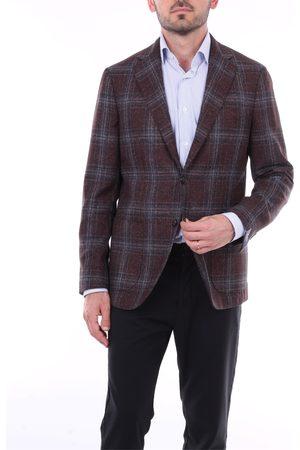 BARBA Men Blazers - Blazer Men and Wool / Silk / Linen