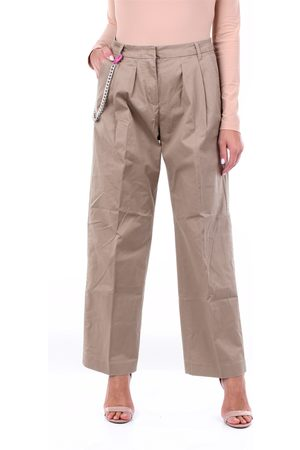 Replay Chino Women Camel cotton and elastane