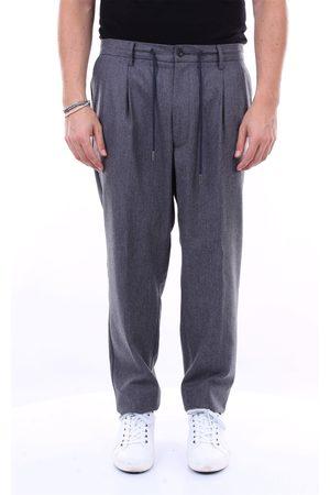 BARBA Chino Men Grey wool