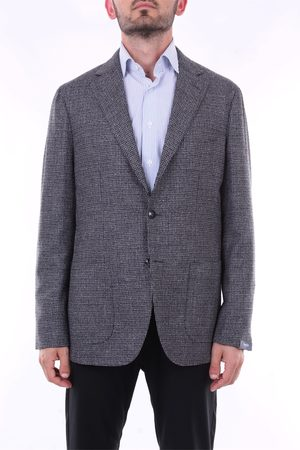 BARBA Blazer Men and wool
