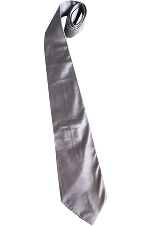 Jil Sander Grey Silk Ties
