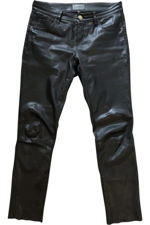 Current/Elliott \N Leather Trousers for Women