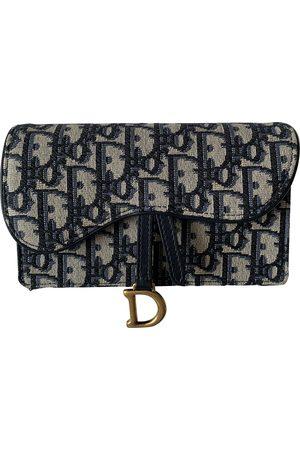 Dior Saddle Cloth Clutch Bag for Women