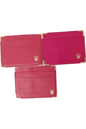 Rolex VINTAGE \N Leather Clutch Bag for Women
