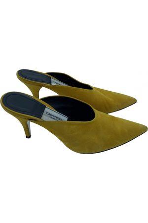 Calvin Klein \N Suede Mules & Clogs for Women