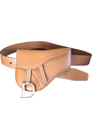 Dior Saddle Leather Clutch Bag for Women