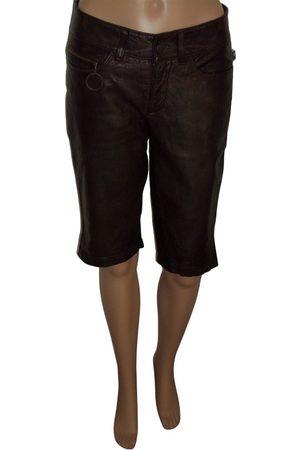 Jean Paul Gaultier VINTAGE \N Leather Shorts for Women