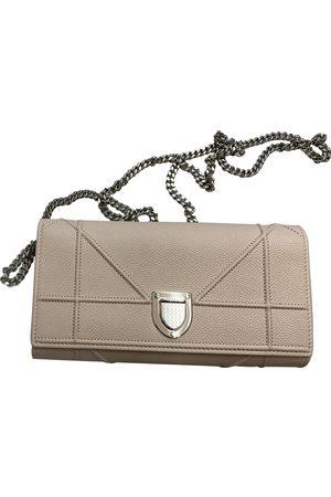 Dior Ama Leather Clutch Bag for Women