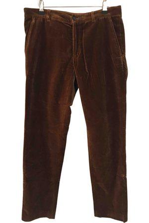 DRIES VAN NOTEN Velvet trousers