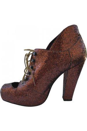 RODARTE \N Glitter Ankle boots for Women