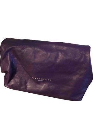 SIMON MILLER Small Lunch Bag Leather Clutch Bag for Women