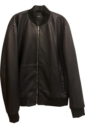 THEORY \N Leather Jacket for Men