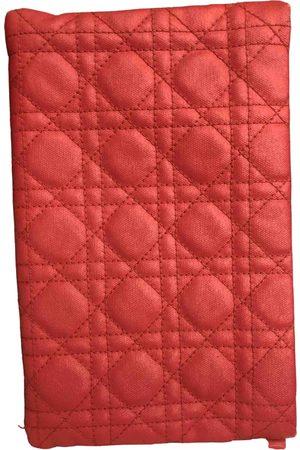 Dior VINTAGE Lady Cloth Clutch Bag for Women