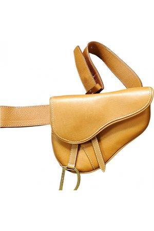 Dior VINTAGE Saddle Leather Clutch Bag for Women