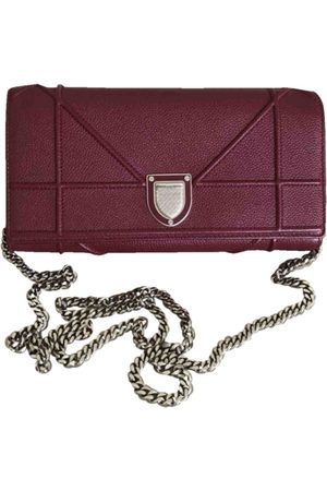 Dior Ama Leather Clutch Bag for Women