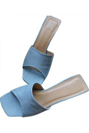 By Far \N Leather Mules & Clogs for Women