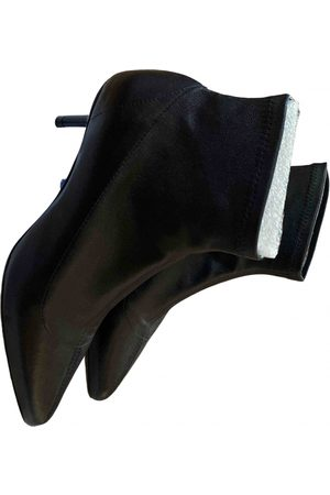 Claudie Pierlot Fall Winter 2019 Leather Ankle boots for Women