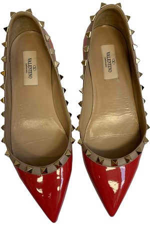 VALENTINO GARAVANI Women Ballerinas - Rockstud Patent leather Ballet flats for Women