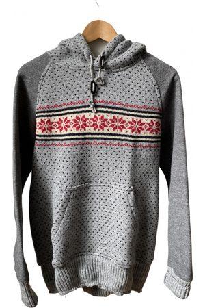 JUNYA WATANABE Grey Wool Knitwear & Sweatshirts