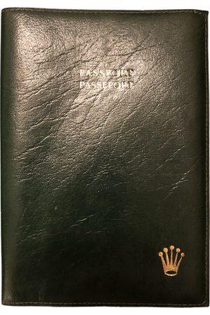 Rolex VINTAGE \N Leather Small Bag, Wallet & cases for Men