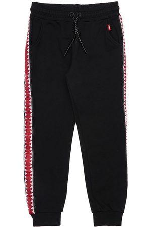 Sprayground Cotton Sweatpants W/ Side Bands