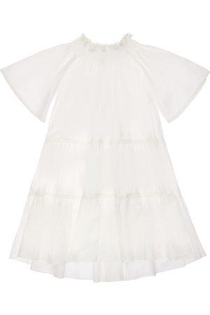 TIA CIBANI Girls Maxi Dresses - Cotton Poplin Maxi Dress