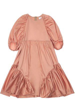 Unlabel Girls Dresses - Ruffled Cotton Blend Dress