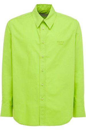 MARTINE ROSE Men Shirts - Cotton Shirt