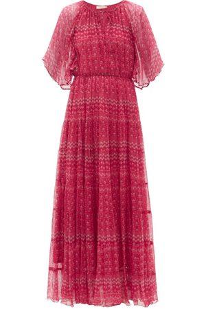 Mes Demoiselles Women Printed Dresses - Gabor Floral-print Chiffon Dress - Womens