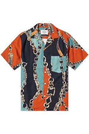 Portuguese Flannel Men Shirts - Nautical 70S Vacation Shirt