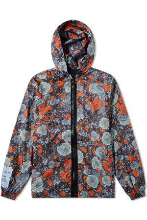 McQ Men Sports Jackets - Lichen Print Windbreaker