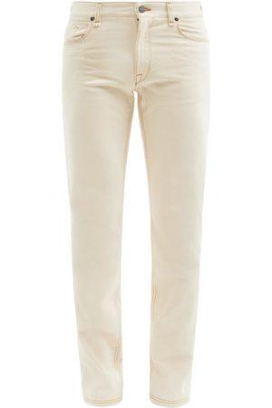 Fendi Men Slim - Low-rise Slim-leg Jeans - Mens