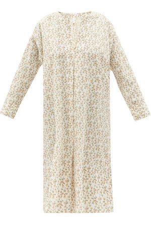 Domi Women Tunics - Floral-print Organic-cotton Tunic - Womens - Print