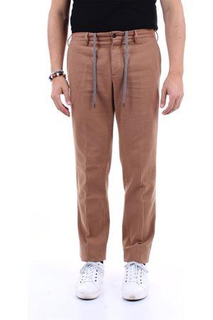 PT Torino Men Chinos - Chino Men Camel cotton and cashmere