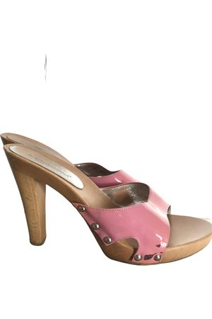 Dolce & Gabbana \N Leather Mules & Clogs for Women