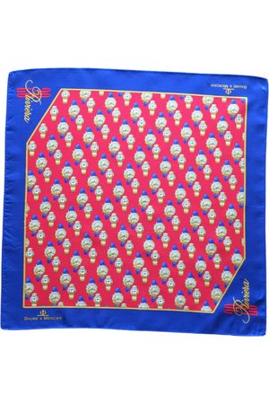 Baume et Mercier Multicolour Silk Scarves & Pocket Squares
