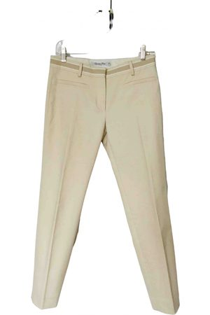 Dior \N Cotton Trousers for Women