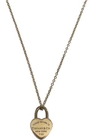 Tiffany & Co Return to Tiffany gold necklace