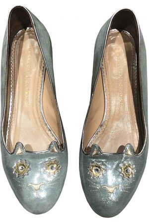 Charlotte Olympia Kitty Cloth Ballet flats for Women