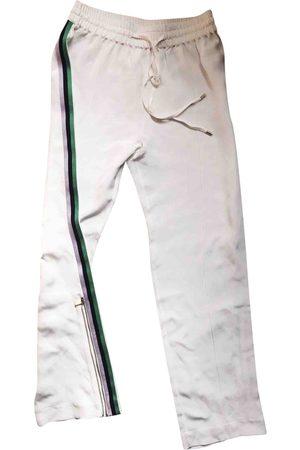 Olivia von Halle \N Silk Trousers for Women