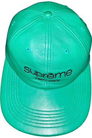 Supreme \N Leather Hat & pull on Hat for Men