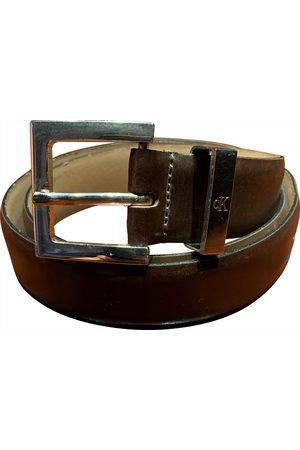 Calvin Klein \N Leather Belt for Men