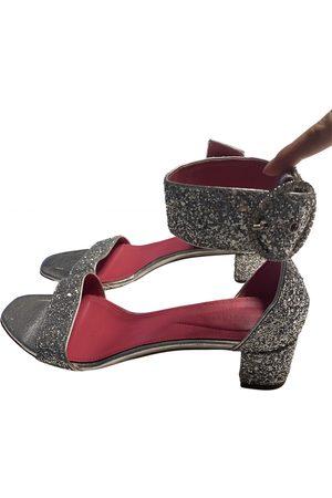 OSCAR TIYE \N Leather Sandals for Women