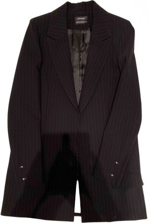 Anthony Vaccarello Women Jackets - \N Wool Jacket for Women