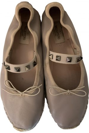VALENTINO GARAVANI Rockstud Leather Ballet flats for Women